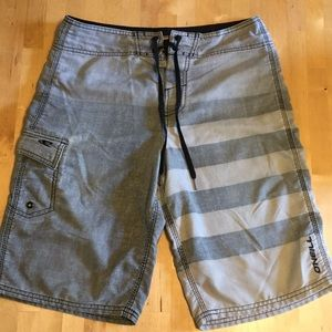 Men's O'Neill board shorts, size 28